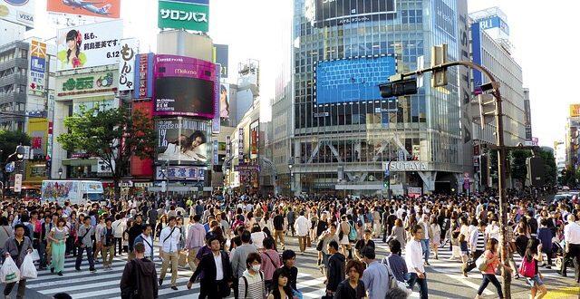 渋谷 交差点 ライブ